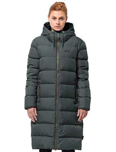 Jack Wolfskin Crystal Palace Coat Damen Greenish Grey Größe